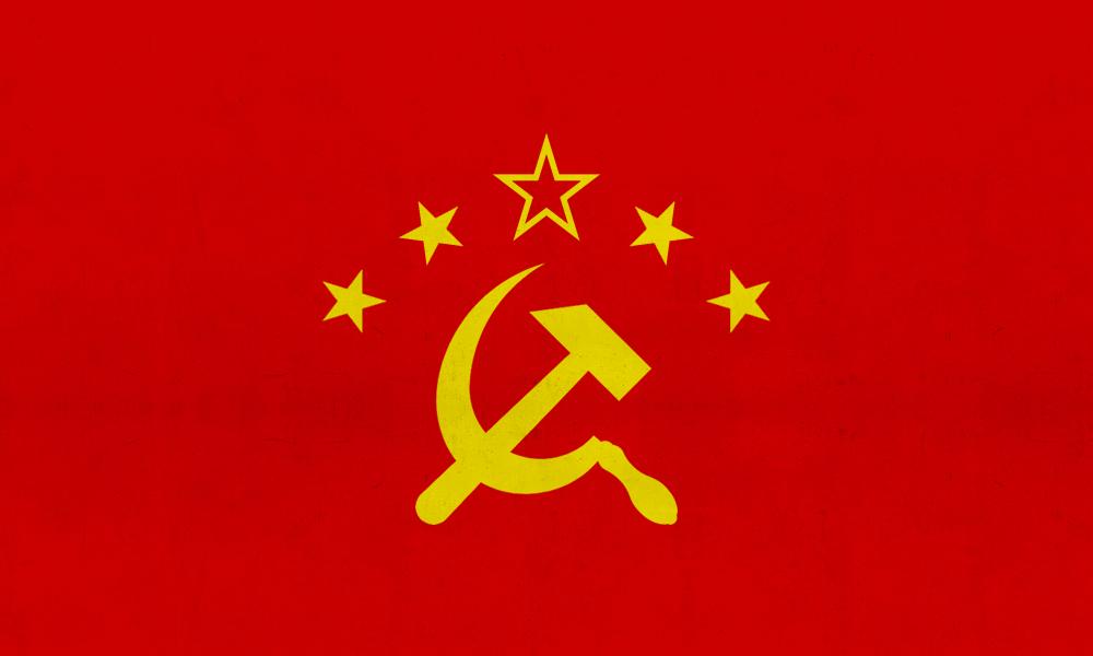 Flagge der VR Tchino